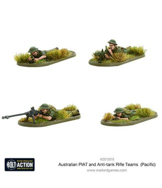 Bolt Action Australian PIAT and anti-tank rifle teams (Pacific)