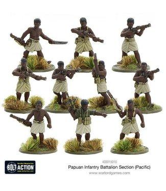 Bolt Action Papuan Infantry Battalion section (Pacific)