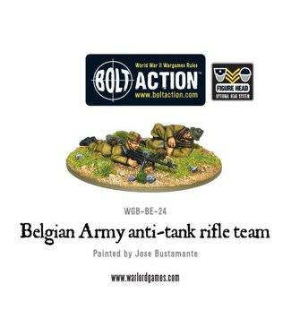 Bolt Action Belgian Army anti-tank rifle team