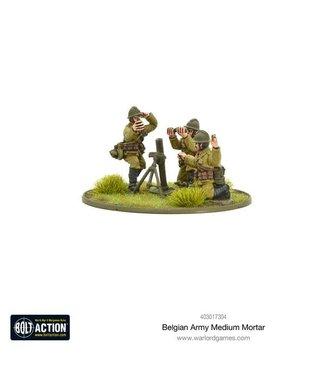 Bolt Action Belgian Army medium mortar