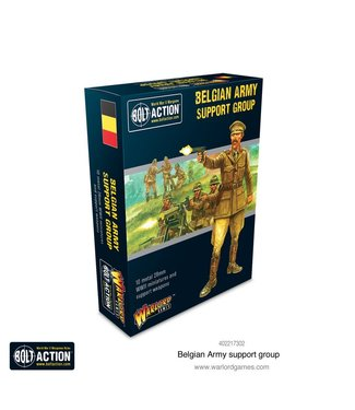 Bolt Action Belgian Army support group