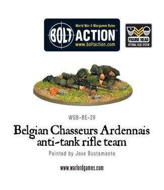 Bolt Action Belgian Chasseurs Ardennais anti-tank rifle team