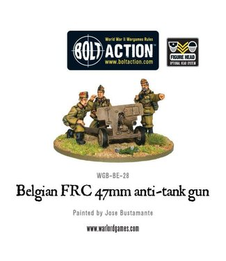 Bolt Action Belgian FRC 47mm anti-tank gun
