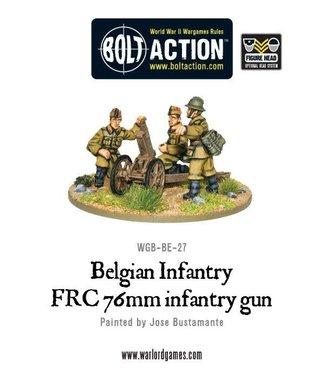 Bolt Action Belgian FRC 76mm infantry gun
