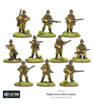 Bolt Action Belgian Infantry Squad