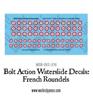 Bolt Action French Roundels