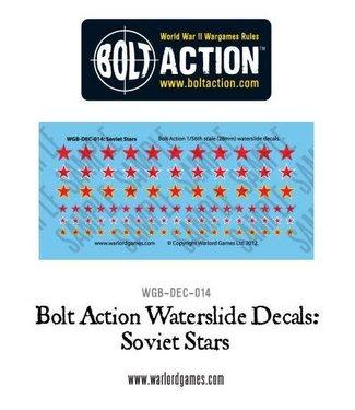 Bolt Action Soviet Stars decal