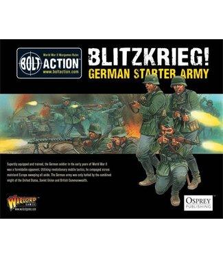 Bolt Action 1000pts Blitzkrieg German Army