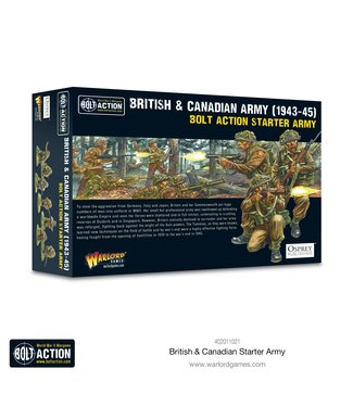 Bolt Action British & Canadian Army (1943-45) Starter Army