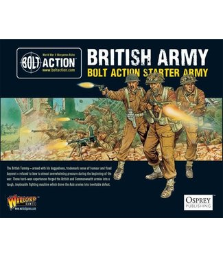 Bolt Action 1,000pt British Army starter army