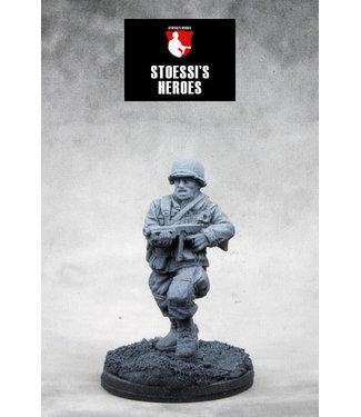 Stoessi's Heroes US Airborne Lieutenant – Ronald C. Speirs