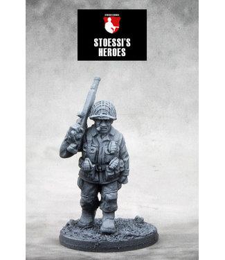 "Stoessi's Heroes US Airborne Staff Sergeant – Denver ""Bull"" Randleman"