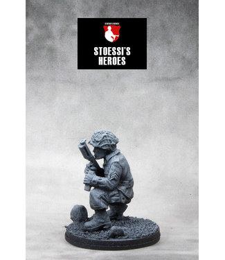 "Stoessi's Heroes US Airborne Staff Sergeant – ""Wild Bill"" Guarnere"
