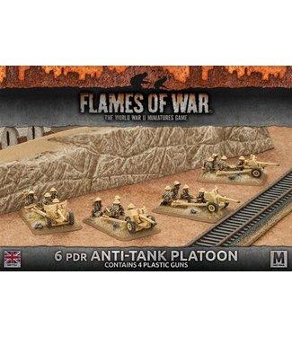 Flames of War 6 pdr Anti-tank Platoon (Plastic)