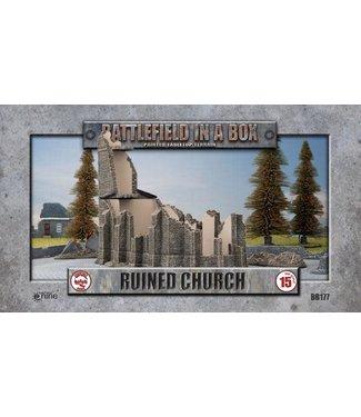 Flames of War BB177 Ruined Church