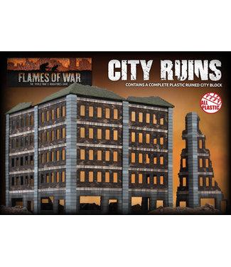 Flames of War City Ruins (Plastic)