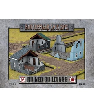 Flames of War Ruined Building