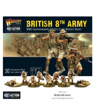 Bolt Action British 8th Army