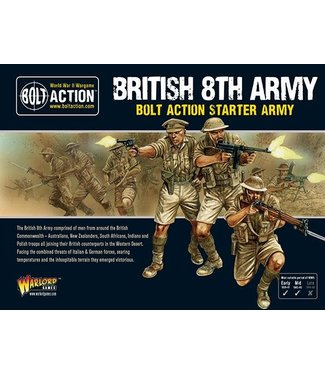Bolt Action British 8th Army Starter Army
