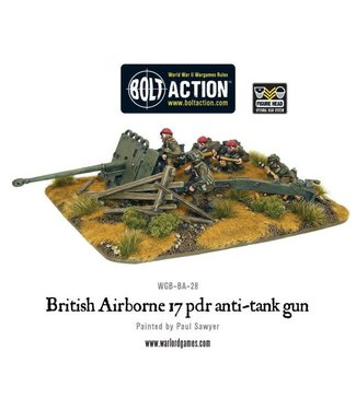 Bolt Action British Airborne 17 pdr anti-tank gun