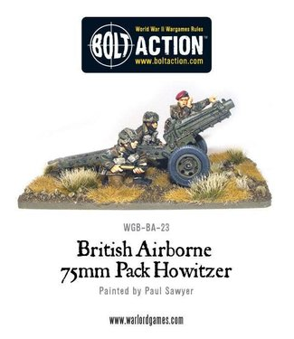 Bolt Action British Airborne 75mm Pack Howitzer