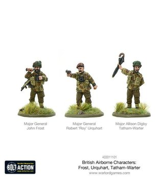 Bolt Action British Airborne Characters