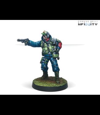 Infinity Chasseurs (Rifle, Light Flamethrower)