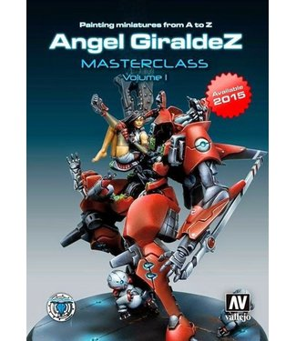 Infinity Painting Miniatures From A To Z Angel Giraldez Masterclass Volume 1