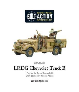 Bolt Action LRDG Chevrolet Truck B