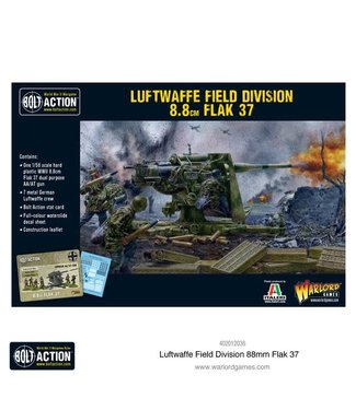 Bolt Action Luftwaffe Field Division 88mm Flak 37