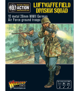 Bolt Action Luftwaffe Field Division Squad