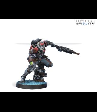 Infinity Raktorak, Morat Major Sergeant (Vulkan Shotgun)