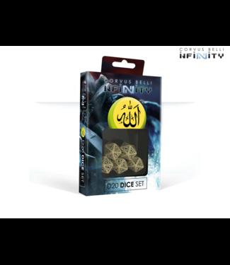 Infinity Haqqislam D20 Dice Set