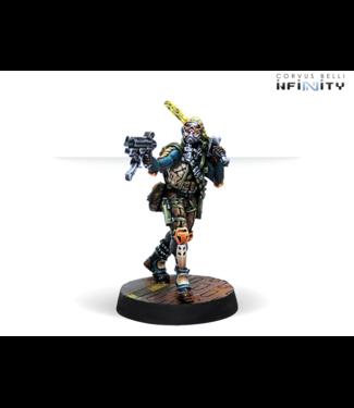 Infinity Cube Jägers, Mercenary Recoverers (Submachine Gun)