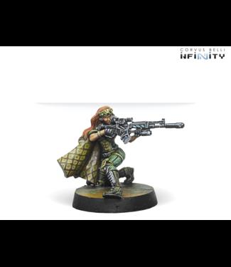 Infinity Major Lunah, Ex-Aristeia! Sniper (Viral Sniper Rifle)