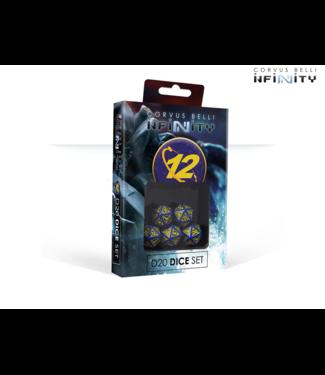 Infinity O-12 D20 Dice Set