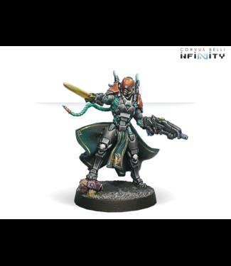Infinity Imperial Agents, Crane Rank (MULTI Rifle, Monofilament CCW)