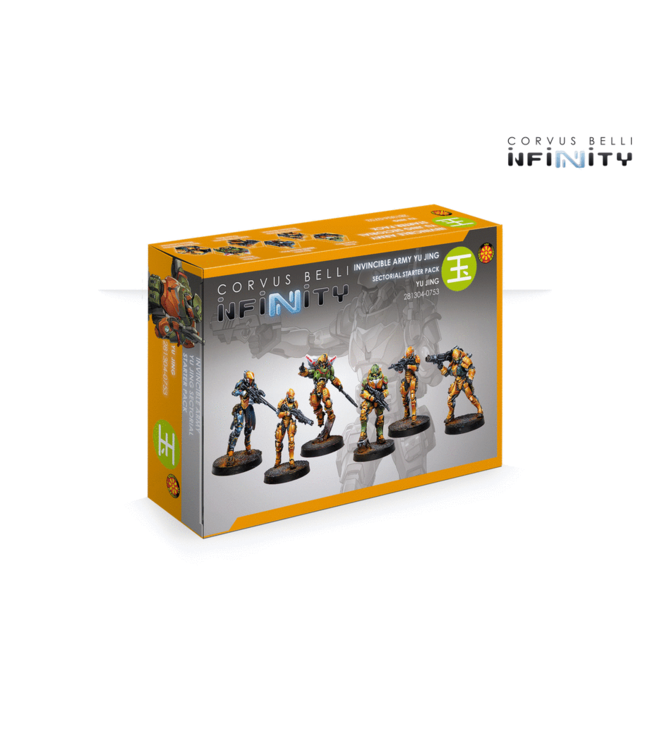 Infinity Invincible Army Yu Jing Sectorial Starter Pack