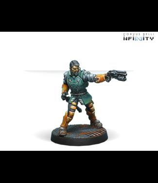 Infinity Kǎnrèn Counterinsurgency Group (Boarding Shotgun, Chain-Colt)