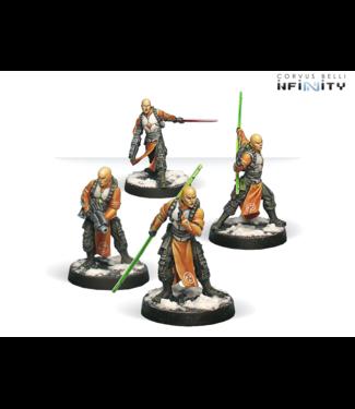 Infinity Shaolin Warrior Monks