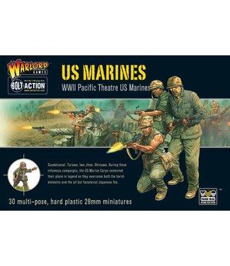 Bolt Action US Marines plastic box set