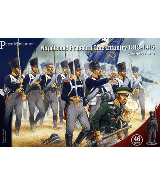 Perry Miniatures Napoleonic Prussian Line Infantry and Volunteer Jagers 1813-15
