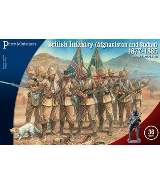 Perry Miniatures British Infantry in Afghanistan Sudan 1877-85
