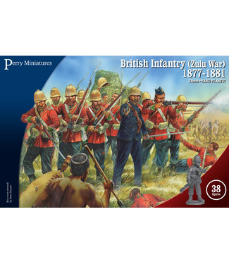 Perry Miniatures British Infantry Zulu War 1877-81