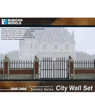 Rubicon Models City Walls