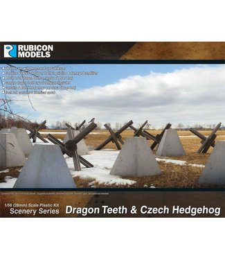Rubicon Models Dragon Teeth & Czech Hedgehog Set
