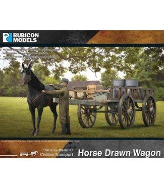 Rubicon Models Horse Drawn Wagon