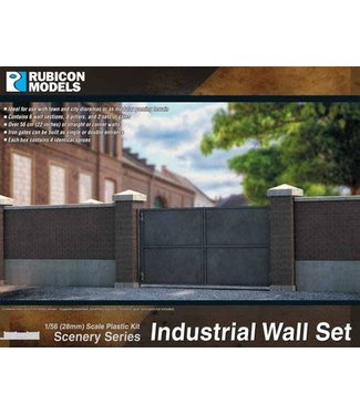 Rubicon Models Industrial Walls Set