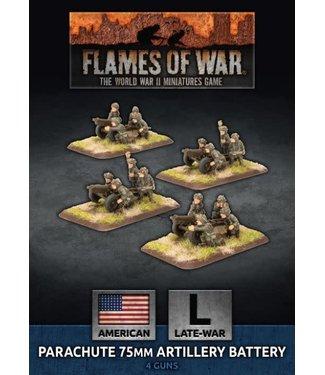 Flames of War Parachute 75mm Artillery Battery (Plastic)