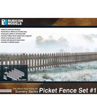 Rubicon Models Picket Fence Set